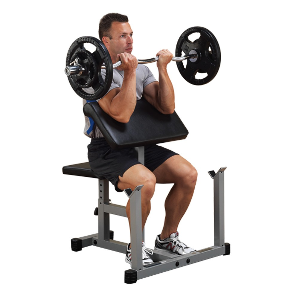 Body Solid Powerline Preacher Curl Bench