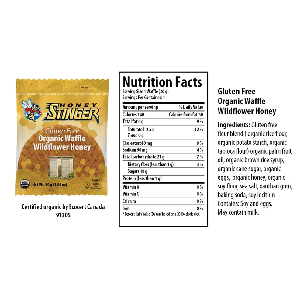 Honey stinger nutrition information nutrition ftempo for Wahoo s fish taco menu nutrition