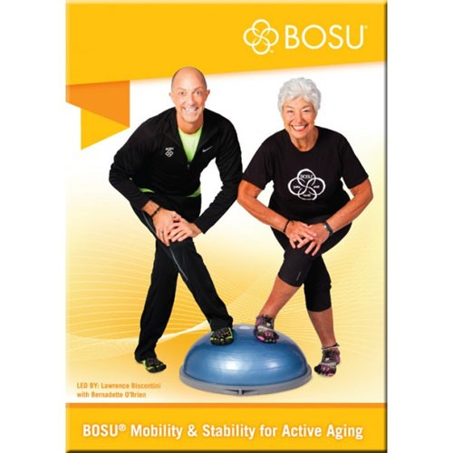 Fitness Dvd Seniors: BOSU Mobility Stability For Active Aging DVD