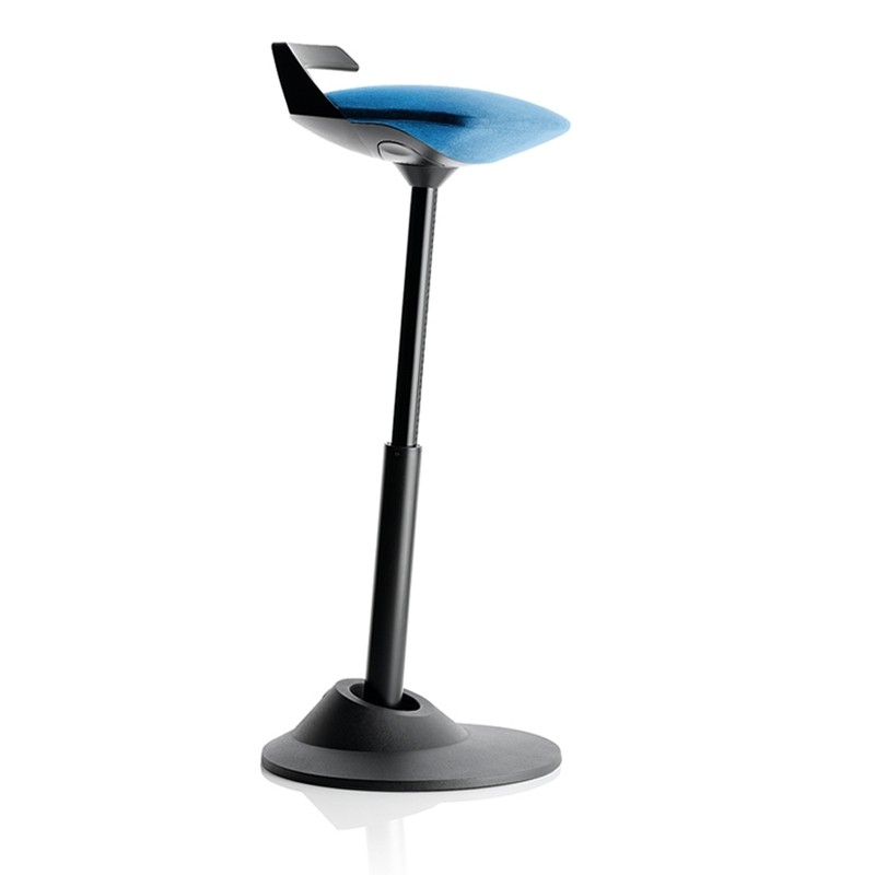 Aeris Gmbh Muvman Basic Sit Stand Stool With Black Base