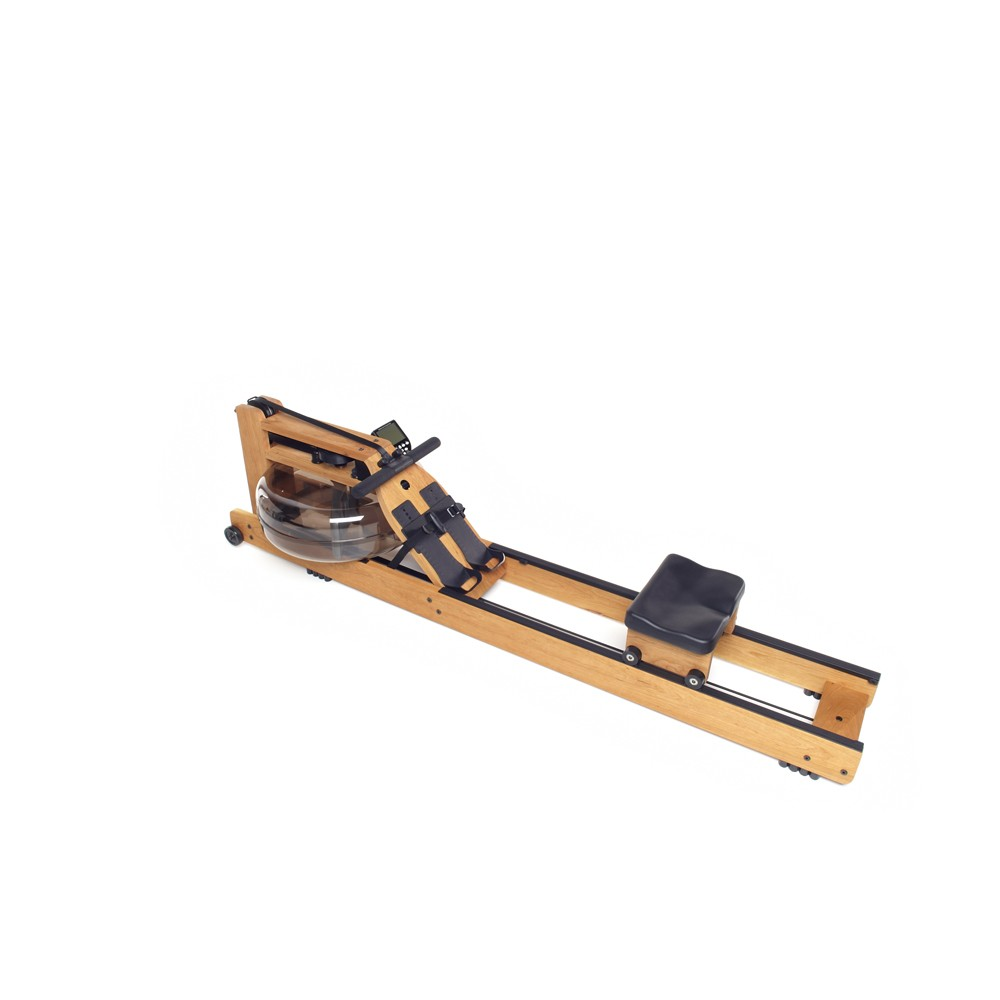 Wooden Rowing Machine Waterrower Oxbridge With S4 Monitor
