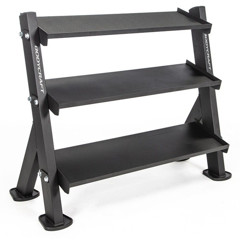 "Body Craft 46"" 3-Tier Dumbbell / Accessory Rack"