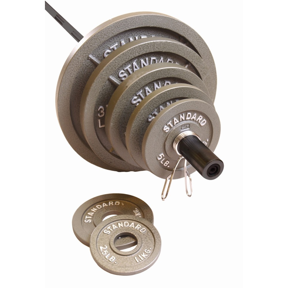 More Views Cap Barbell 300 Lb Olympic Weight Set