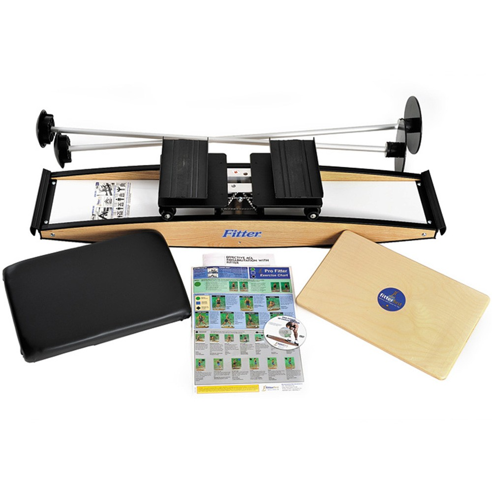 FitterFirst Pro Fitter 3D Cross Trainer Physio Kit