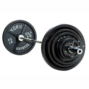 York Barbell 2900 300 lb International Olympic Set