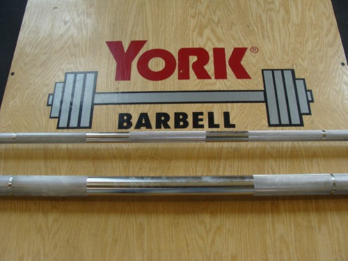 "York Barbell 7' Extreme Grip 2"" Olympic Bar"