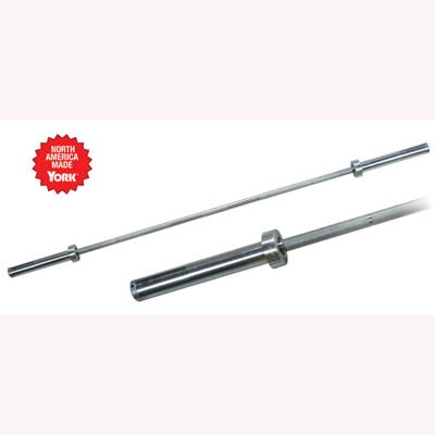 York Barbell Women's Elite Competition Olympic Needle bar 15 kg 25 mm