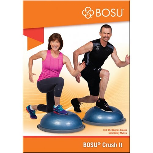 Bosu Ball Exercises For Athletes: BOSU Crush It DVD