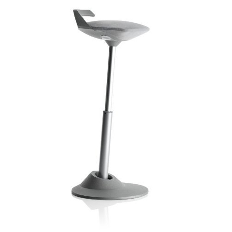 Aeris GmbH Muvman Basic Sit-Stand Stool with Gray Base