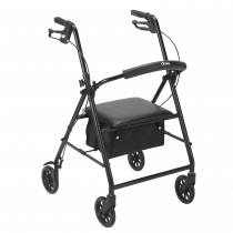 "Drive Medical Rollator with 6"" Wheels"
