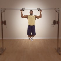Body Lat Pull Up/Chin Up Cable Crossover Attachment