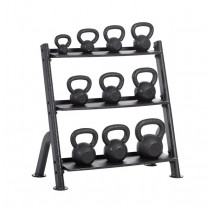 Outdoor 15 Piece Kettlebell Club Pack with Rack