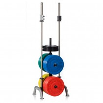 Hampton Fitness Bumper Plate Tree with Bar Holders IPT-BP