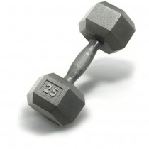 Hampton Pro Hex Dumbbells with Cast Ergonomic Handles