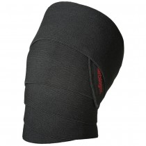 "Harbinger Power Knee Wraps - 72"" - Black"