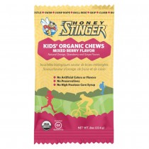 Honey Stinger .8oz Kids' Organic Energy Chews – Mixed Berry (Pack of 5)
