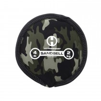 Hyperwear Camo SandBell - Filled