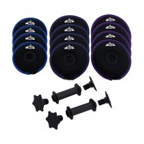 Hyperwear Softbell Dumbbell - Heavy Set