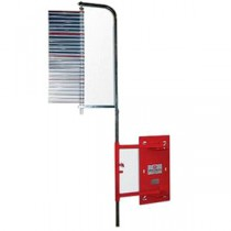 Vertec Vertical Jump Tester - Wall Mounted