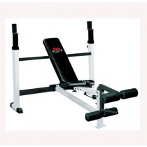 York Barbell FTS Olympic Combo Bench with Leg Developer