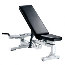 York Barbell Multi-Function Bench with Wheels