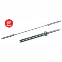 York 2200mm Men's Elite Olympic Training Bar 20KG - 28mm