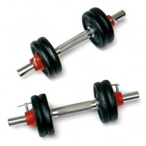 York Barbell Cast Iron Adjustable Dumbbell Sets