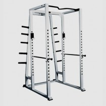 York Barbell ST Power Rack with Weight Storage