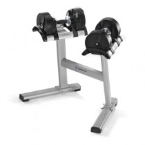 Stairmaster Twistlock Adjustable Dumbbell Set with Stand