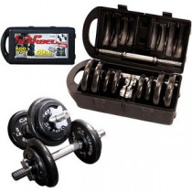 Cap Barbell RSWB-40TP 40-Pound Dumbbell Set