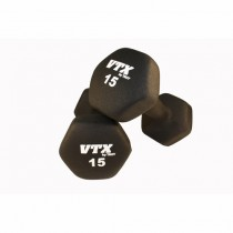 Troy 1 - 15 lb Neoprene Dumbbell Set - FREE SHIPPING
