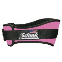 Schiek Women's Pink Nylon 2004 Lifting Belt