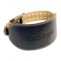 "Harbinger 6"" Padded Leather Belt"