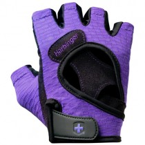 Harbinger Women's FlexFit Gloves in Black/Purple