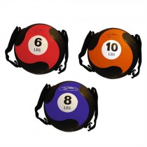 FitBALL MedBall with Straps