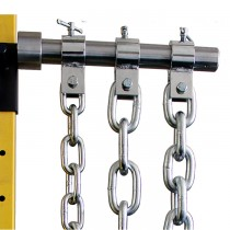 Ader Fitness Weight Lifting Chain Set - Zinc Finish