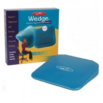 """FitBALL Wedge - 13"""" Iridescent Blue"""