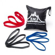 Black Mountain Products Strength Loop Resistance Band Combo Set of 3