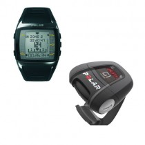 Polar FT60 Heart Rate Monitor with G1 GPS Sensor Black with White Display