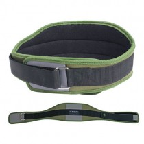 "HumanX 70225 6"" Competition CoreFlex Belt - Hunter GreenGrayBlack"