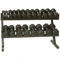 Troy 10 Pair Dumbbells with Horizontal Rack