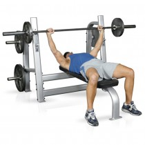 Inflight Fitness Olympic Bench w Weight Horns