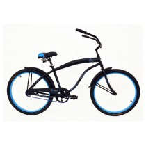 Kettler Bicycle Verso Men's' Vegas Cruiser - Matte Black/Blue