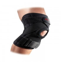 McDavid Knee Support w/Stays & Cross Straps - Black