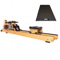 WaterRower Natural S4 Bundle with WaterRower Mat