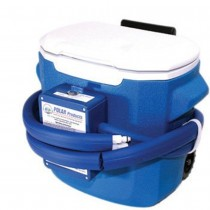 Polar Products Active Ice Therapy System - Double Att - 15 Quart Cooler