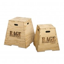 Rage Fitness Wooden Puzzle Plyo Box