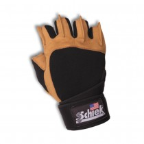 Schiek 425 Series Power Gel Lifting Gloves with Wrist Wraps