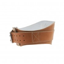 "Schiek L2006 6"" Leather Weightlifting Belt"