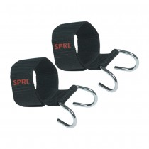 Spri Adjustable BarbellDumbbell Lifting Hooks